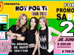 Hoy por ti Tour 2013: Ilse, Ivonne y Mimi