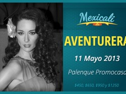 Aventurera en Mexicali 2013