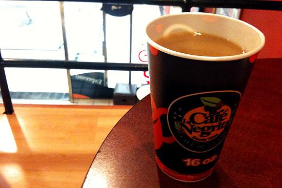 cafe la negrita vaso