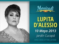 Lupita D´alessio en Mexicali 2013