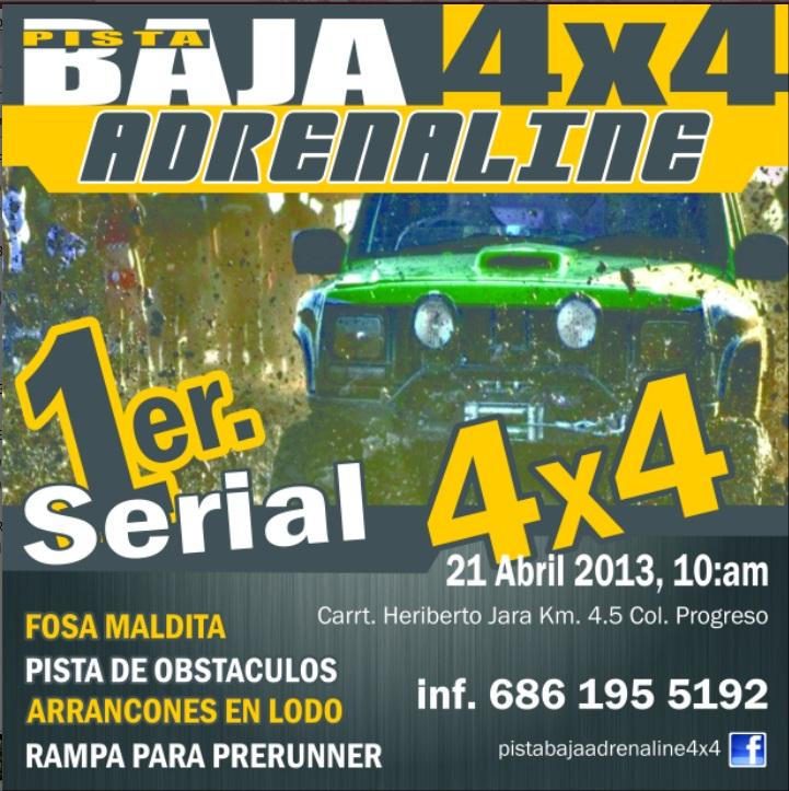Pista Baja 4x4 Adrenaline