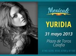 Yuridia en Mexicali 2013