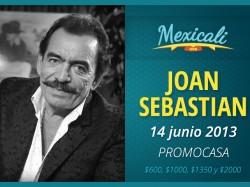 Joan Sebastian en Mexicali 2013