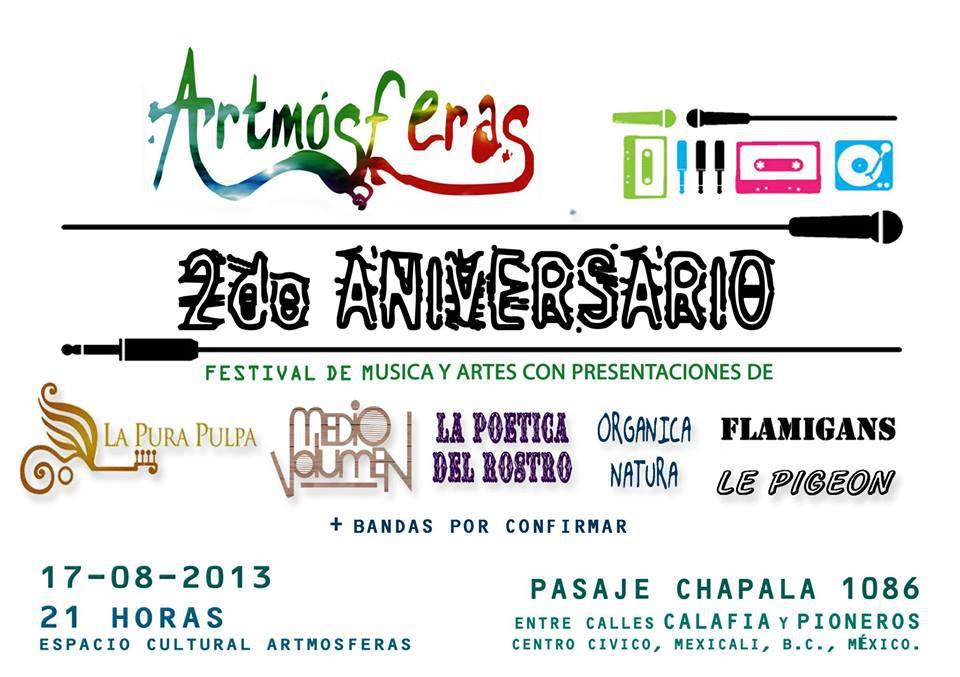 Artmósferas 2ndo aniversario