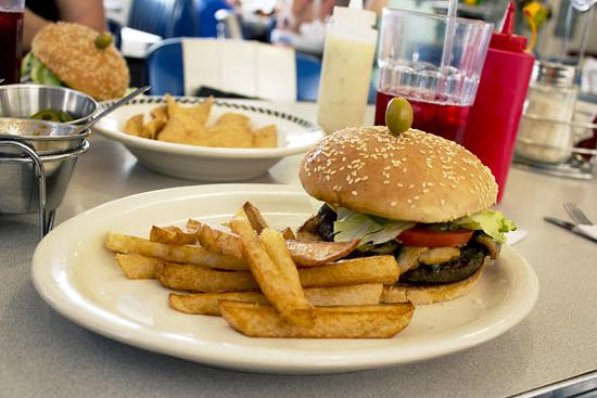 betty diner hamburguesa