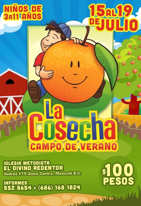 La Cosecha Campo de Verano en Mexicali