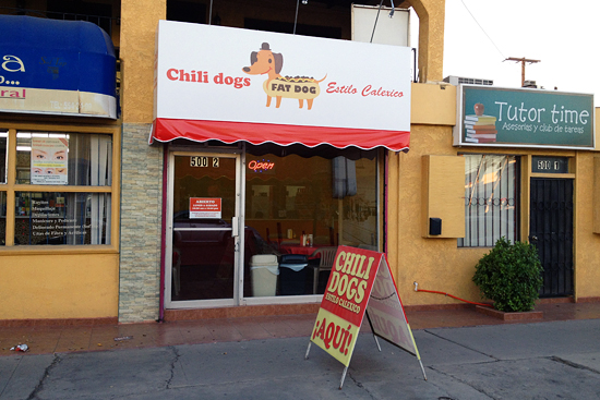 fat dog chili dog calle i