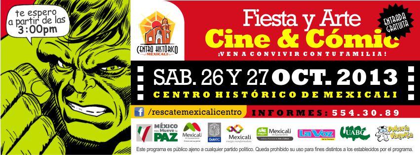 Fiesta y Arte, Cine & Cómic