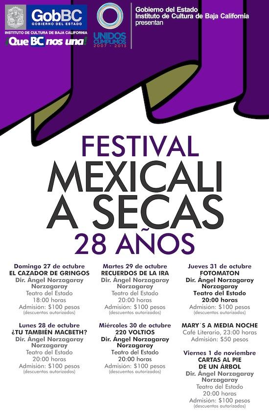 Festival Mexicali a secas