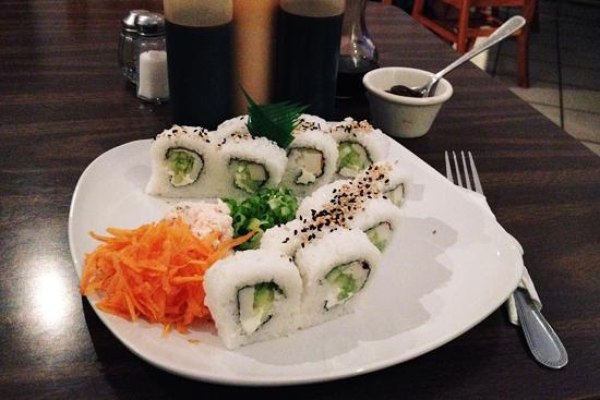 keko sushi kani roll