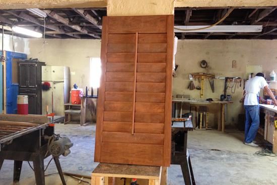shutters de madera