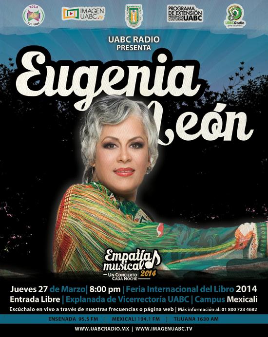 Eugenia León en Mexicali