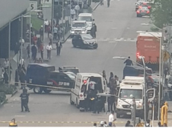 VIDEO: Policía frustró asalto en Plaza Carso al enfrentar con balas a un ladrón