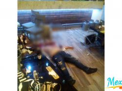 Hombre es asesinado a tiros en un bar de Justo Sierra en Mexicali