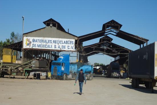 Materiales reciclables de Mexicali