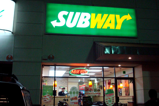 Subway Villanova