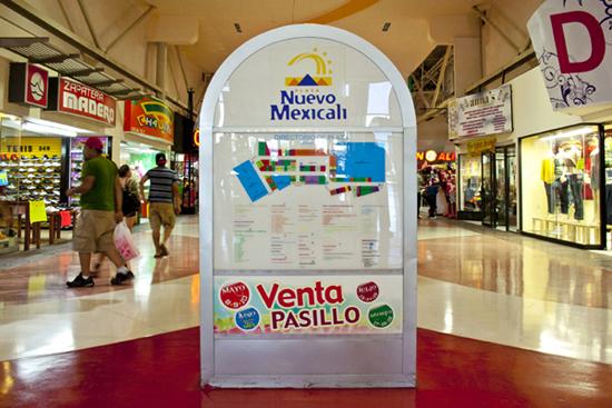Mapa de Plaza Nuevo Mexicali