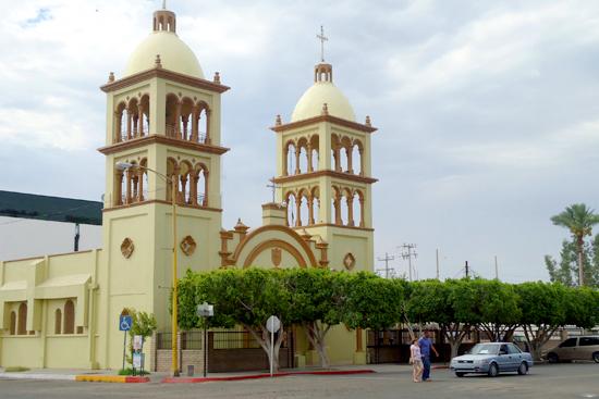Parroquia la Inmaculada Concepción en San Luis Río Colorado