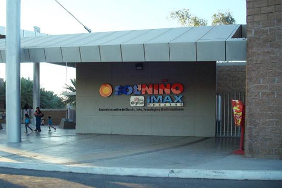 IMAX en Sol del Niño
