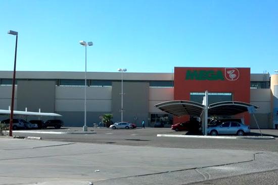 Mega Comercial Mexicana en Plaza Carranza Mexicali