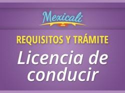 Requisitos y trámite para licencia de conducir