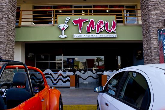 Tabu sushi en Mexicali