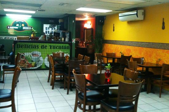 Por dentro restaurante El Habanero