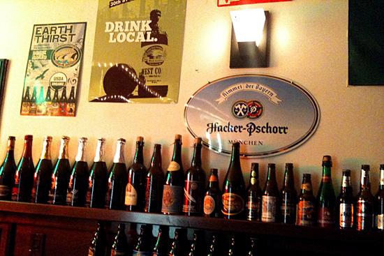 Gran variedad de cervezas