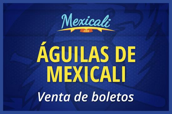 Venta de boletos de los Águilas de Mexicali