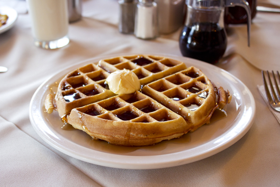 Chalet waffles