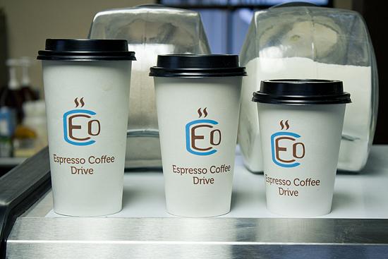 Tamaños de café