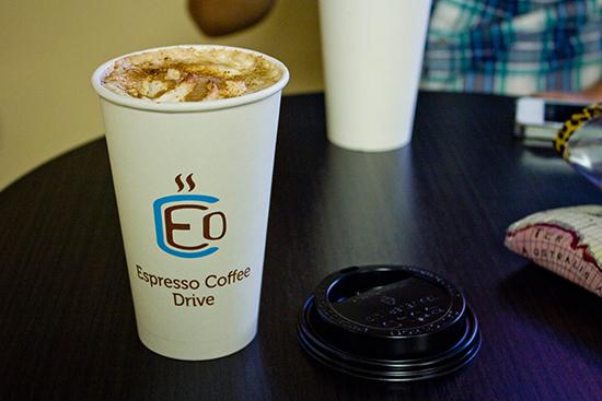 Café de Espresso Coffee Drive