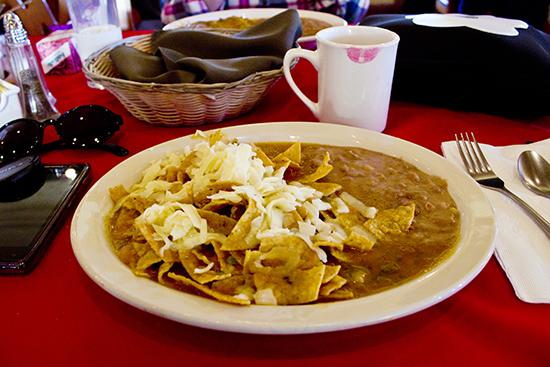 Chilaquiles de Las Campanas Restaurant