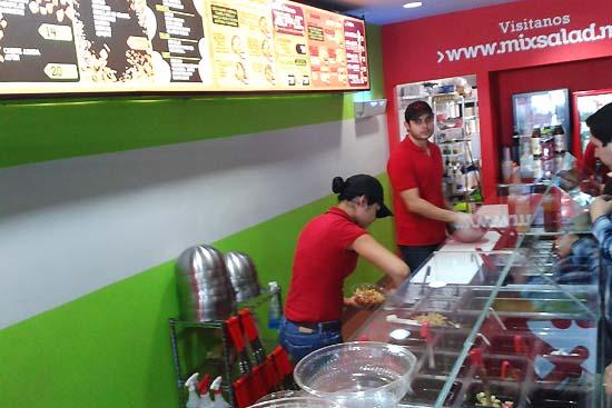 Mix Salad Plaza Cataviña en Mexicali