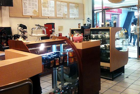 cafe la negrita mostrador